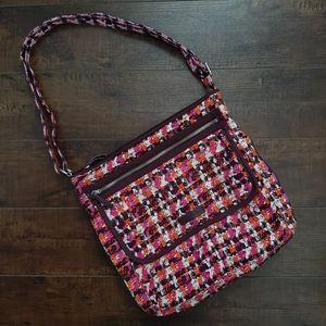 Vera Bradley Crossbody Bag Houndstooth Tweed